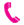 Pink Telephone icon